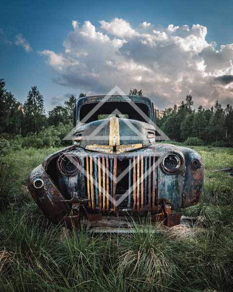 Old Husk of a Car