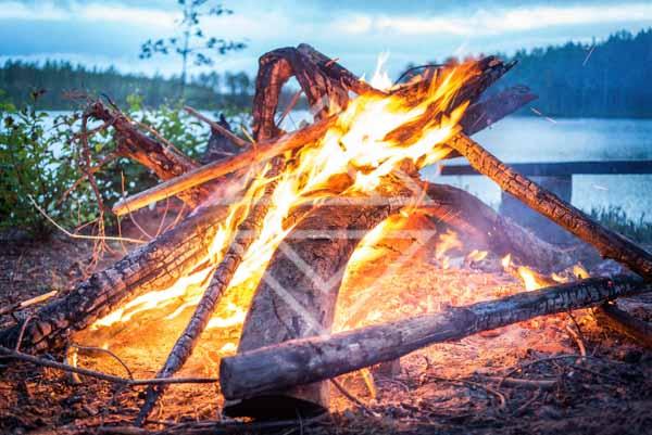 Midnight Summer Bonfire