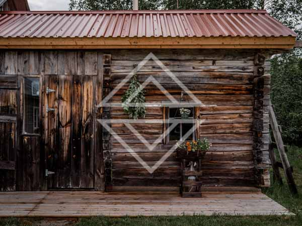 Wooden Sauna Cabin