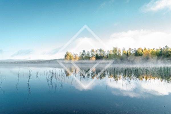 Eearly Autumn Morning Mist