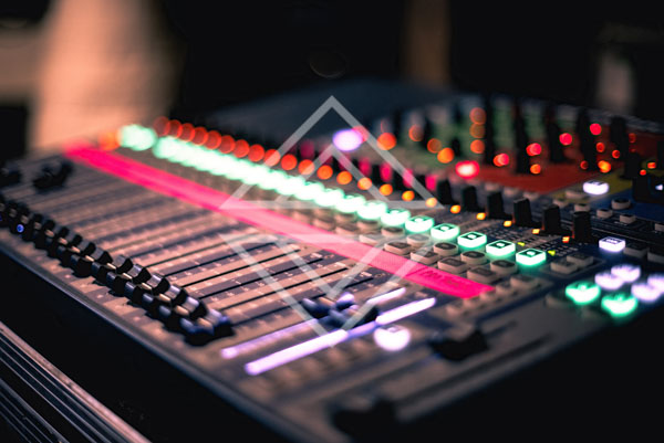 Audio Mixer in Studio