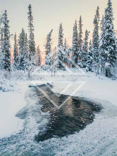 Unfrozen River